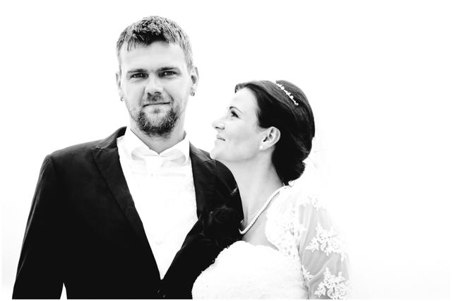 Hochzeitspaar, Portrait Braut & Bräutigam - Hochzeitsfotografie in Altefähr - Hochzeitsfotograf_Ruegen_Stralsund