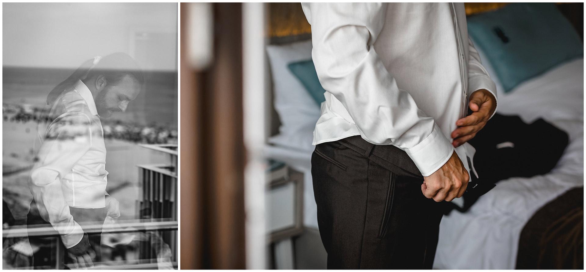 Braeutigam-bei-den-Vorbereitungen-zur-Hochzeit_Getting Ready-Hochzeitsfotograf-Warnemuende-Rostock-Hochzeitsfotograf-Ostseebad-Warnemuende