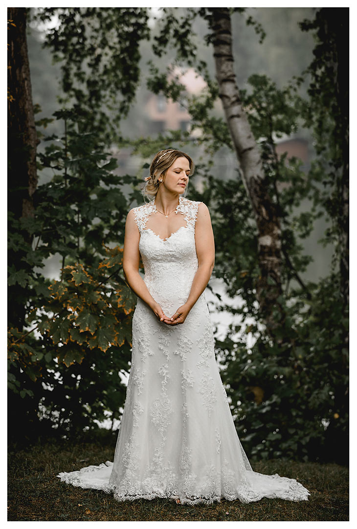 Hochzeitsfotograf Rostock - Brautpaarshooting - Braut alleine - Fotograf Rostock - Hochzeitsfotograf Villa Papendorf