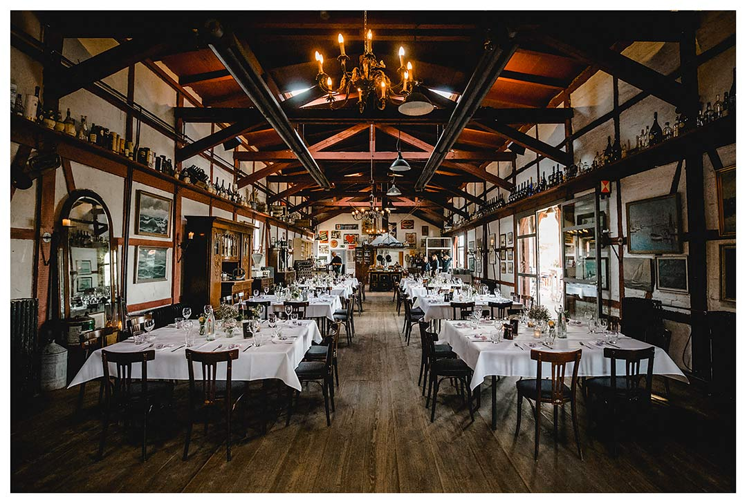Raum für Hochzeitsfeier im Lokschuppen - Lokschuppen Rostock