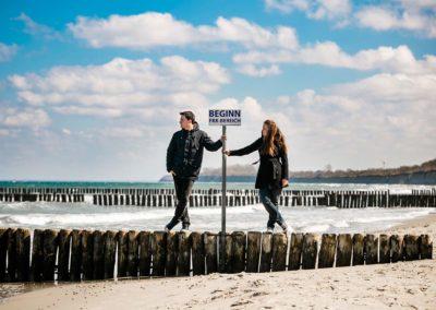 Fotos - Paarfotos - Ostsee - Gespensterwald - Nienhagen - Hochzeitsfotograf Rostock - Fotograf Rostock - Fotograf Warnemünde