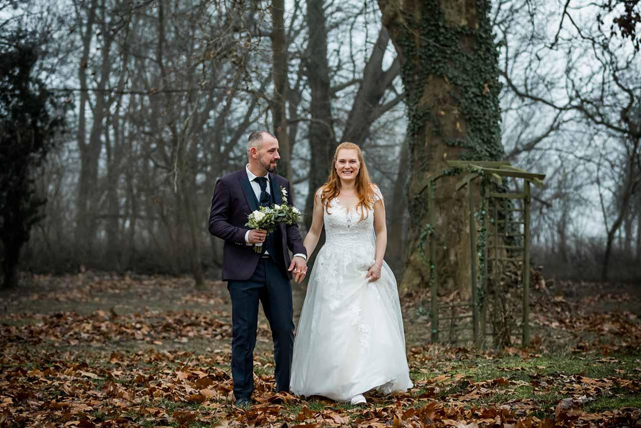 Brautpaar - Hochzeitsshooting - Hochzeitsfotografie - Hochzeitsfotograf Bredenfelde