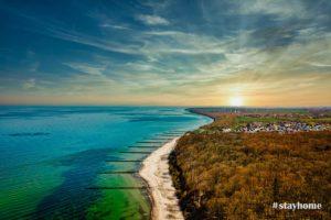 #stayhome - Landschaftsfotografie - Drohne - Gespensterwald Nienhagen - Warnemünde - Fotograf Rostock - Landschaftsfotos zum Download
