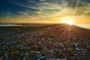 #stayhome - Landschaftsfotografie - Sonnenuntergang über Zingst - Fotograf Rostock