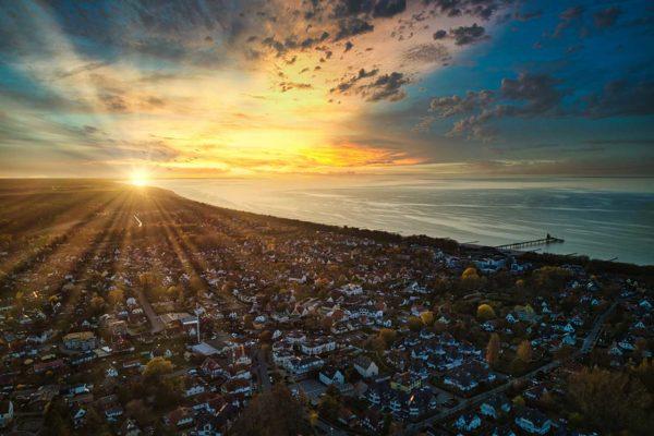 Produktbild - #stayhome - Landschaftsfotografie - Zingst an der Ostsee bei Sonnenuntergang - Fotograf Rostock - Landschaftsfotos zum Download